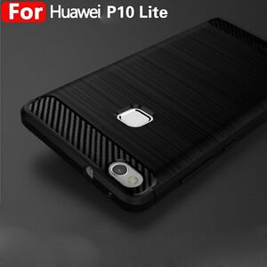 the best attitude 7683b 42d91 Details about For Huawei P10 Lite Plus Shockproof Silicone Hybrid Case Soft  Bumper TPU Cover @