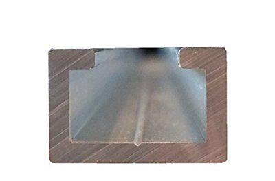 Aluminium U-Profil Kantenschutz Einfassprofil C-Profil U Schiene 35x35x70mm-3mm
