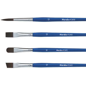 Pinsel Marabu-Forte flach Gr.6