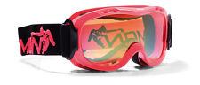 DMN Magic Single junior red fluo safety Skibrille Snowboardbrille