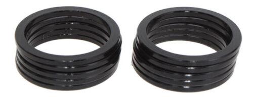 "black 10//bag Vuelta Headset spacer 1-1//8/"" x 2.5mm"