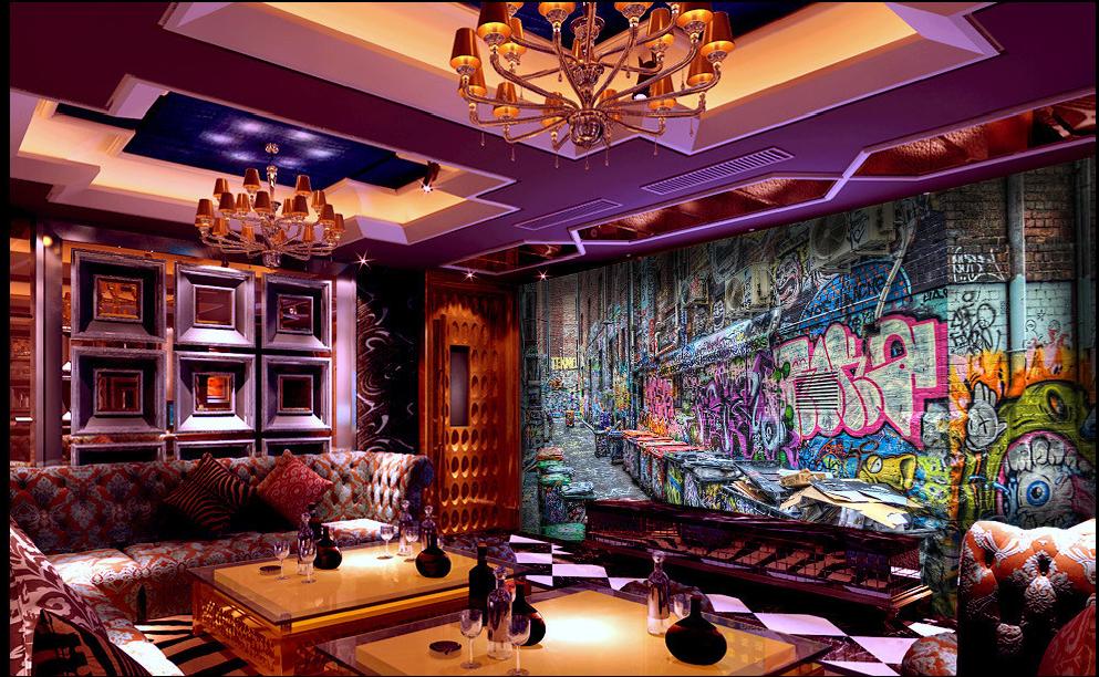 3D Abfallstation Kunst-Graffiti 72 Tapete Wandgemälde    Tapeten Bild Familie DE    Roman    Smart    Marke  f8a05c