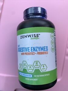 Zenwise Health Daily Digestive Enzymes With Prebiotics + Probiotics 180