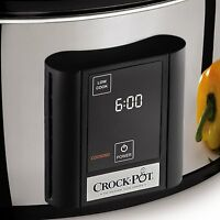 Crock-pot Scvt650-ps 6-1/2-quart Programmable Touchscreen Slow Cooker, Stainless on sale