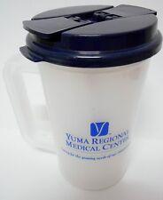 Plastic Insulated Yuma Regional Thermo 22oz  Mug Navy Lid  Bendable Straw