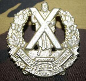 cap-badge-du-regiment-canadien-Cameron-highlanders-of-Ottawa