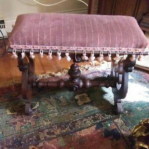 Eastlake Piano or Organ Bench