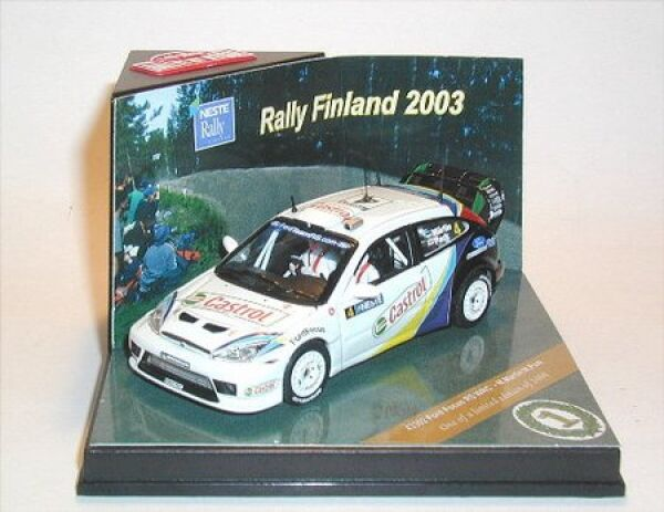 Ford Focus Rs WRC No.4 M.Martin   M.Park Rally Finland 2003