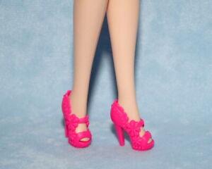 Barbie Hot Pink Pilgrim Heels No Mark Mint Condition
