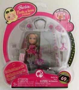 Barbie Peek A Boo Petites Fashionistas Purse Collection 69