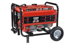 King-Canada-Tools-KCG-4200G-4200W-Gasoline-Generator-with-Wheel-Kit-Generatrice