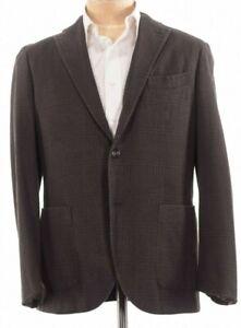 Boglioli-NWT-K-Jacket-Sport-Coat-Size-42R-In-Brown-W-Dark-Blue-Plaid-1-595