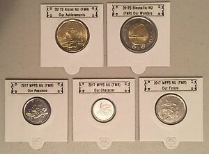 CANADA-2017-New-Complete-circulation-set-150th-of-Canada-NO-COLOR-BU-From-roll
