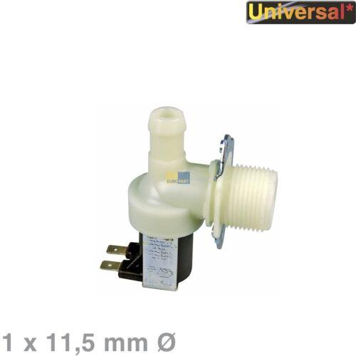 UNIVERSALE valvola solenoide VALVOLA 1 volte 90 ° 11,5mm Ø LAVASTOVIGLIE LAVATRICE