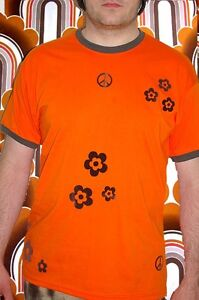 278-selfmade-Prilblumen-Hippie-Peace-Herren-Shirt-Woodstock-Vintage-Kult-Retro