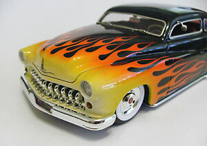 Flame Paint Masks for Revell 1/25 49 Mercury Custom