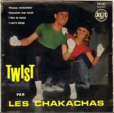 "LES CHAKACHAS ""I LIKE TO TWIST"" LATIN ROCK 60'S EP RCA AREA 75 137"