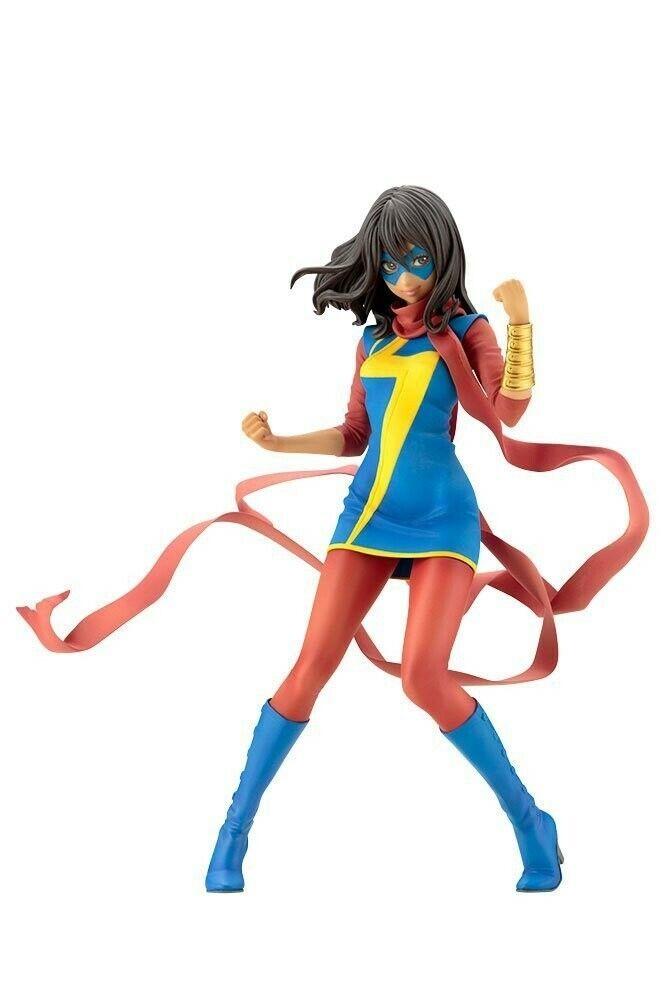 cifra 1 7 Sig.ra Marvel(Kamala Khan)Bishojo PVC Statua 19 cm  KOTOBUKIYA