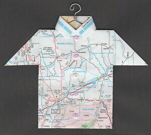 Origami-Map-Shirt-Montana-Billings-Hardin-Roundup-Pompeys-Pillar-Ingomar