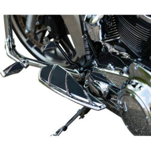 Kuryakyn Chrome Phantom Driver Footboards Floorboards Harley Touring Softail 83+