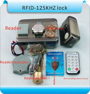 Mc 203e S10 Dc12v Metal Electronic Integrated Rfid Double