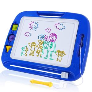 Bunt Löschbar Magnettafel Za SGILE Magnetische Maltafel Zaubertafeln für Kinder