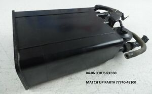 04-06 Lexus RX330 Evap Fuel Gas Vapor Canister Charcoal OEM Used 77740-48100