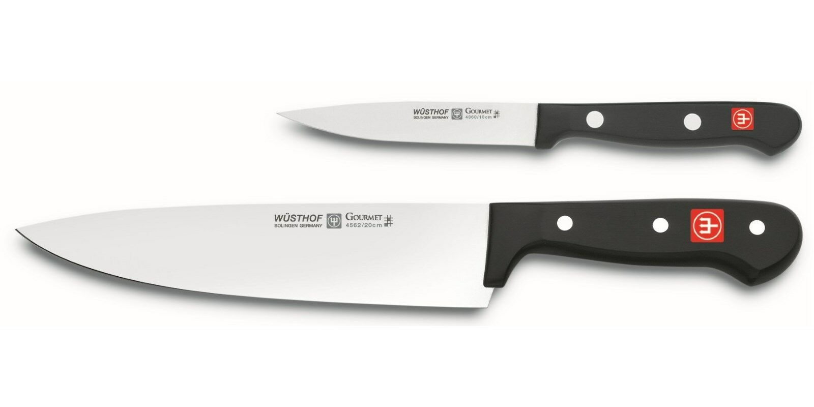 Wusthof Gourmet 2pc Starter Knife Set - 8  Cook's Cook's Cook's & 4  Utility   Paring f58da8