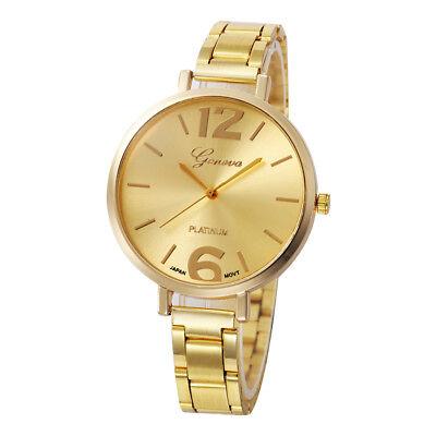 Ladies Luxury Women Thin Stainless Steel Band Analog Quartz WristWatch Watches