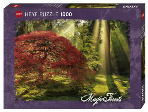 MAGIC FORESTS : GUIDING LIGHT - Heye Puzzle 29855 - 1000 Teile Pcs.