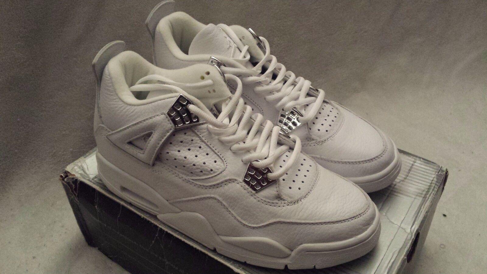 Nike Air Jordan 4 Retro  Pure Money  - 136030 111 - Size US 9