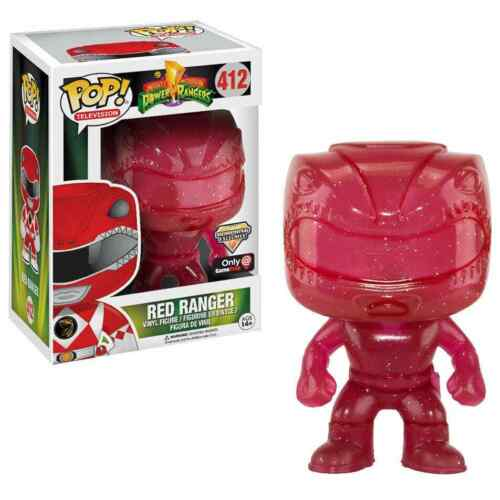 Funko POP Red Morphing Power Rangers Vinyl