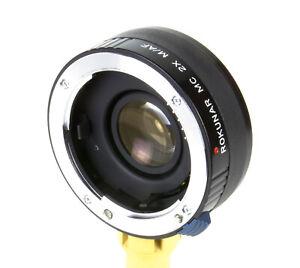 Rokunar-MC-2x-M-AF-Tele-converter-For-Minolta-AF-Sony-A
