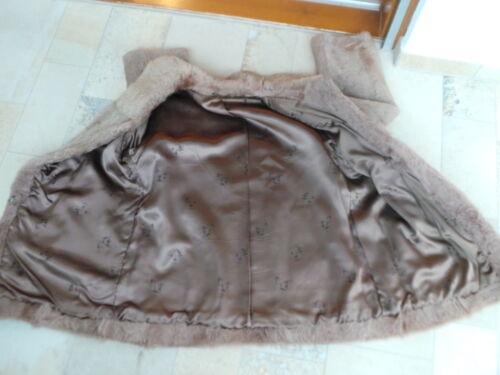 Kuscheliger Siehe 40 Gr Maße 42 Mantel Pelzmantel Schöner Pelz dvqadU