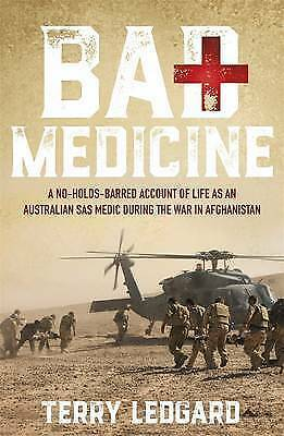 1 of 1 - Bad Medicine by Terry Ledgard (Trade Paperback, 2016) LIKE NEW, FREE SHIPPING