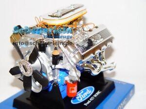 Motormodell Standmodell Figur Engine #27 Modell Motor V8 Shelby Cobra 427 FE