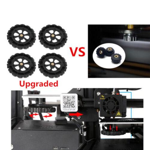 Upgraded Leveling Nut For Creality CR-10//10S Mini Ender 3 3D Printer 4pcs