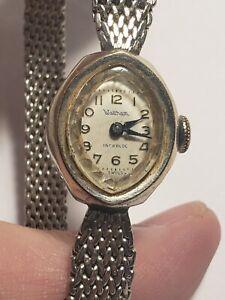 Waltham-ladies-watch-in-10k-bezel-and-strap