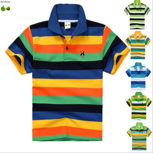 New 95/%cotton kids children clothes tops tee boys kids short sleeve t shirt