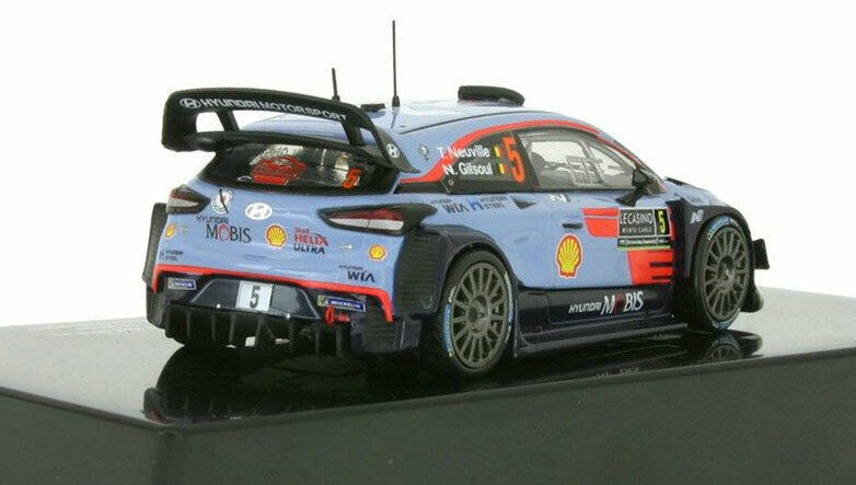 IXO RAM663 Hyundai i20 WRC Monte Carlo 2018-Thierry Neuville escala 1//43