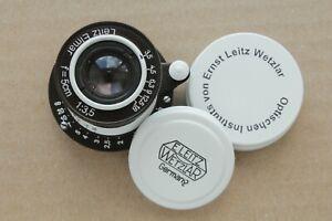 Leica-Objektiv-Leitz-Elmar-3-5-50-mm-RF-m39-Zeiss-eleitz-Wetzlar-Limited-Edition