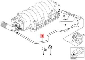 Genuine BMW E38 E39 E52 E53 Sedan Engine Vacuum Control Pipe Oem. Is Loading Genuinebmwe38e39e52e53sedanengine. Wiring. 1997 540i Engine Diagram Vacuum At Scoala.co