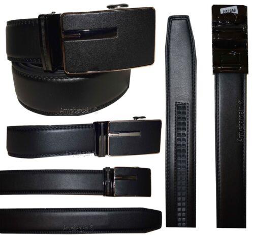 Band* Men/'s Automatic lock belt Men's Dress /& Casual belt Leather belt Strap