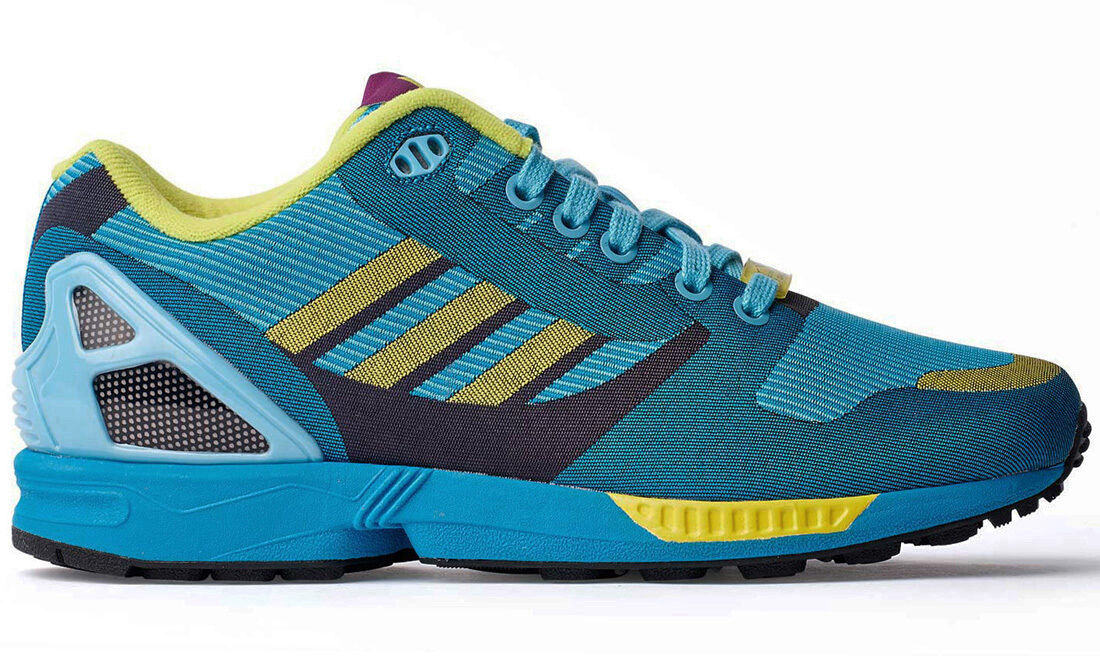 2014 ADIDAS ZX FLUX WEAVE LIGHT AQUA Gr.39 1/3 UK 6 adv M21788 city 8000 special