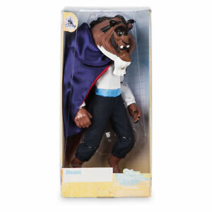 DISNEY Beast Classic doll figure Beauty And The Beast 33cm ** NUOVO ** Belle
