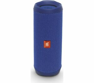 JBL Flip 4 Portable Bluetooth Wireless Speaker - Blue - Currys