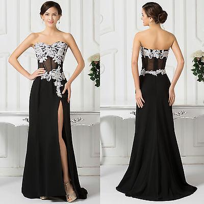 2015  Lang Abendkleid Partykleid Brautjungferkleid Cocktailkleid