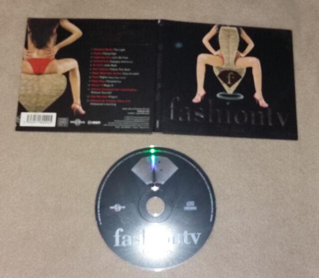 CD Fashion TV The Mix 13.Tracks 2002 Swarowski Crystal Tattoo Inside  77