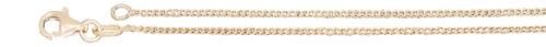 Panzerkette Silber 925 vergoldet Kinderkette massiv Silberkette 36 38 40 cm
