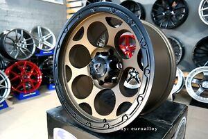 New 18 inch 6x139.7 BRONZE MATT concave wheels for TOYOTA NISSAN ISUZU GMC CHEVY
